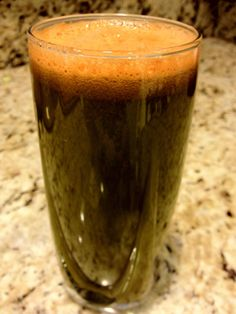 "Juicing Vegetables & Fruit      Want a sweeter juice than ""Morning Greens?""   Take this recipe:   10 Carrots  10 leaves of Kale  2 Celery stalks  1 Broccoli crown  1 Pineapple core  1/2 Cucumber  1/3 Fennel  2 inches of Ginger   And ADD...(view next post)  https://www.facebook.com/JUICING101"