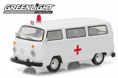 ScaleClub V_Dub Series Club V-Dub Series 3 1975 Volkswagen Type 2 Bus Ambulance with Roof Light & Siren Steel Roofing, Roofing Shingles, Volkswagen Type 2, Little Cottages, Porch Roof, Roof Colors, Roof Architecture, Roof Light, Roofing Materials