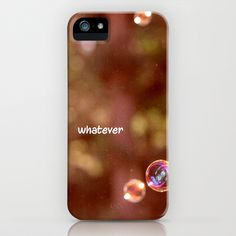 whatever iPhone & iPod Case by Marianna Tankelevich - $35.00