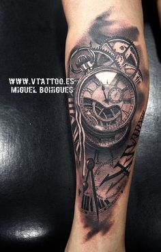 tattoo v tattoo tattoo 2016 watch tattoos time tattoos tattoo clock ...