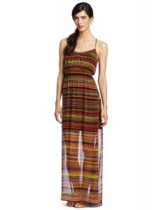 Twelfth St. by Cynthia Vincent Women's Smocked Waist Maxi Dress  where can i find dresses  http://wherecanifinddresses.com