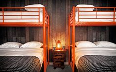 BaseCamp: rustic modern boutique hotel - Euro Style Home Blog - Modern Lighting - Design
