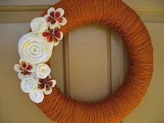 Ever After...: DIY Fall Wreath