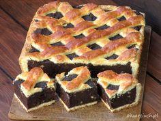 Tray Bake Recipes, Cake Recipes, Christmas Cookies Kids, Banoffee Pie, Milk Cake, Types Of Cakes, Chocolate Decorations, Bbq Pork, Polish Recipes