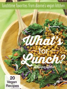 Dianne has released a new ebook all about #vegan lunches!  via @diannewenz