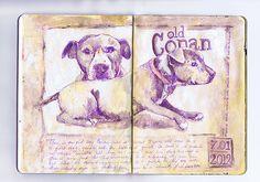 Visual art diary ideas