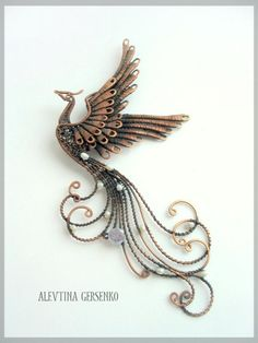 *QUILLING ~ 4 копия..reminds me of the fire bird on harry potter
