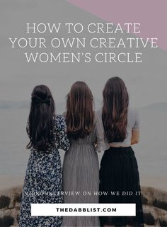 Want to learn how to create your own Creative Women's Circle in your community? Click through to this helpful video interview where we break it down for you! creativity, sisterhood, passion, purpose, overwhelm, creative, wisdom, busy, stress, crafty, sacred, ritual, ceremony