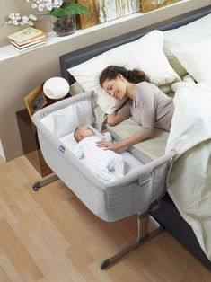 One of these is a must have for me over a bassinet! I like the thought of co-sleeping and being able to wake up and check on my baby right there! Will update when I can find one sold in Canada!