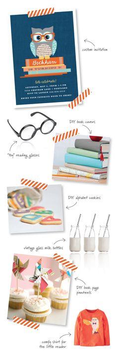 Book Party Ideas   TheCelebrationShoppe.com