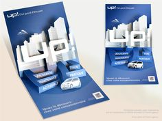 VW direct mail piece. on Behance