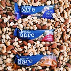 We're going Nuts over our new Bare bars!