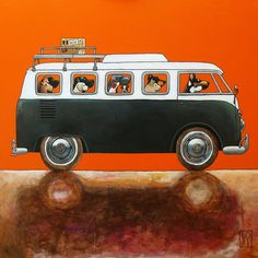147 ON THE MOVE - volkswagen bus