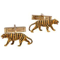 Tiger Cuff Gold Links