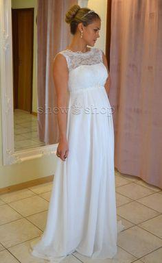 Brautkleid TRAUM Hochzeitskleid A-Linie Umstandskleid Weiß Ivory | eBay