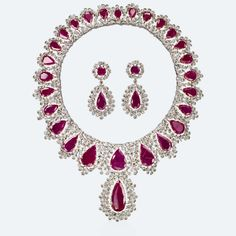Thirty-one ruby drops fall upon a champagne-colored meadow. In this unique jewel, Gianmaria Buccellati accentuates the mesmerizing fiery glow of the red stones by combining them with the warm hue of sparkling champagne diamonds. The airy design softens the striking effect of the stones because elegance must reign. Http://www.facebook.com/diamonddreamfinejewelers http://www.twitter.com/diamond_dream_ http://www.instagram.com/diamonddreamjewelers