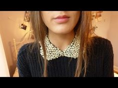 She Makes A Stunning And Classic Peter Pan Collar And You Won't Believe How Easy It Is! - DIY Joy