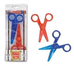 Thrifty Scissor Practice - for ages 2 and up! - In Lieu of Preschool