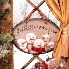 Sno Blessed Snowmen Slate Plaque – Baubles-N-Bling