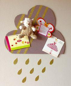 Mademoiselle CONSTELLATION ® Ateliers DIY- Pinboard, cloud, liège, pin it, room, kids, décoration- Crédit Photo : Mademoiselle CONSTELLATION