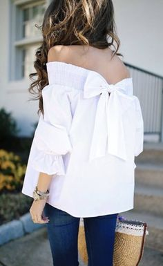 OMG THAT BOWSpring and Summer Outfit trends for 2017. Perfect outfit inspiration for Stitch Fix. Add pin to your Stitch Fix style board. New to Stitch Fix? Click pin and Sign up now! :) #Sponsored