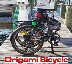 Bikes are very famous in this modern time. Folding Bike is one of the best bikes. They are offering you this bike on very handsome price. Even this bike is available on very cheap rate. You can buy it from online store. @ http://www.origamibicycles.com