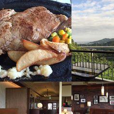 昨日北中城村のステーキ屋さんのエメラルドに行きました350gのステーキ肉の味がしてするりと食べられましたイオンモールライカム近くです #沖縄 #okinawa #ステーキ #beefsteak #ライカム #rycom
