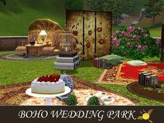 evi's Sims 3 Downloads Outdoor Furniture Sets, Outdoor Decor, Sims 3, Boho Wedding, Patio, Home Decor, Decoration Home, Room Decor, Bohemian Weddings
