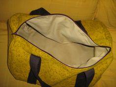 bolsa de viaje forrada