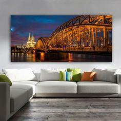 Πανοραμικός πίνακας σε καμβά Κολωνία Sydney Harbour Bridge, Travel, Viajes, Trips, Tourism, Traveling