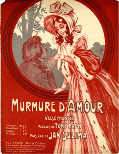 Murmure d'Amour, 1908 (ill.: Clérice frères); ref. 9700