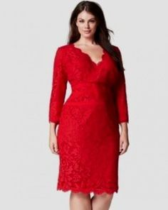 plus size red cocktail dress - Google Search  Little Red Dress ...