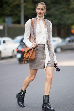 70 Best Street Style Pics From Milan Fashion Week  - Cosmopolitan.com