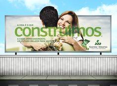 Construtora Santa Maria  Campanha: 25 anos  Mídia: Outdoor