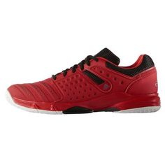 1312887b3b6 Chaussures Handball adidas Court Stabil 12 Homme Rouge