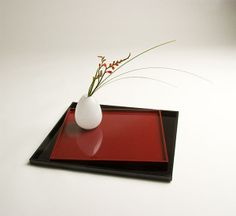 Ziji - Lacquered Trays, $27.00 (http://www.ziji.com/products/ikebana-flower-arranging/display-stands/lacquered-trays/)