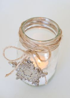 Mason Jar Candles.