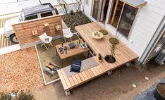 Small Japanese Garden, Japanese House, Interior Garden, Diy Interior, Muji Home, Small Backyard Design, Patio Flooring, Garden Deco, Camping Style