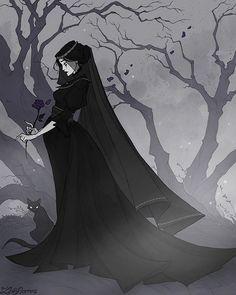 Ideas Dark Art Horror Illustrations For 2019 Arte Horror, Horror Art, Jeter Un Sort, Sad Art, Goth Art, The Witcher, Dark Fantasy, Gothic Fantasy Art, Art Inspo