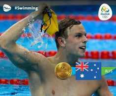 Swimming, Men's 100m Freestyle - Kyle Chalmers, Australia - Rio Olympics 2016