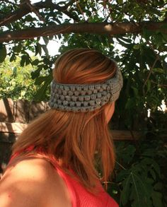 Puff Stitch Headband