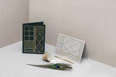 Image of Card Set – Grey & Green