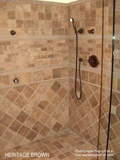 Want to redo my shower stall. Love the tile!