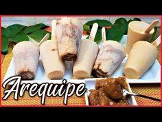 HELADOS de AREQUIPE - como hacer helados de arequipe cremosos - YouTube Ice Cream Youtube, Colombian Cuisine, Latin Food, Sorbet, Popsicles, Banana Bread, Sausage, Chicken Recipes, Frozen