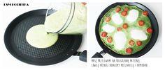 Dietetyczny zielony omlet ze szpinakiem + KONKURS Tefal   PSYCHODIETKA