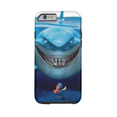 Bruce, Nemo and Dory 2 Tough Iphone 6 Case ($47) ❤ liked on Polyvore featuring accessories, tech accessories, phone cases, disney and phone