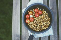 Balsamic Chickpeas — hipsterfood