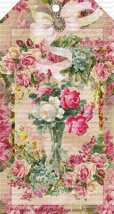 victorian pastel tags - Google Search