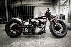Harley-Davidson Knucklehead bobber | Bobber Inspiration | Bobbers & Custom Motorcycles