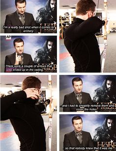 Richard Armitage (he can shoot with me any time)
